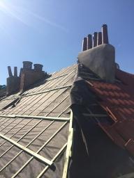 Remplacement de toiture à Molenbeek Saint-Jean