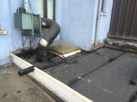 Remplacement de roofing à Koekelberg